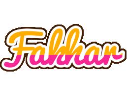 Fakhar smoothie logo