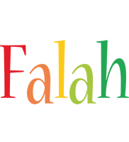Falah birthday logo