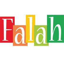 Falah colors logo
