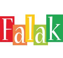 Falak colors logo