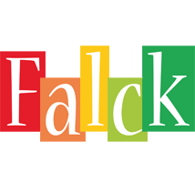Falck colors logo