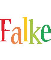 Falke birthday logo
