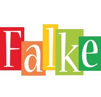 Falke colors logo