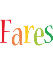 Fares birthday logo