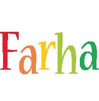Farha birthday logo