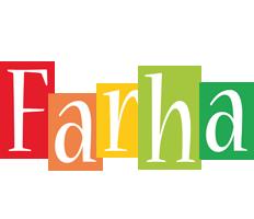 Farha colors logo