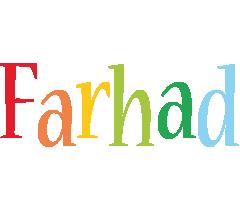 Farhad birthday logo