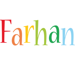 Farhan birthday logo