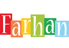 Farhan colors logo
