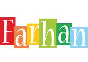 Farhan colors logo