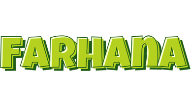 Farhana summer logo
