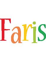 Faris birthday logo