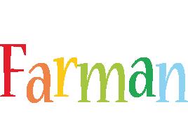 Farman birthday logo