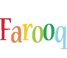 Farooq birthday logo