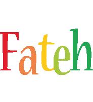 Fateh birthday logo