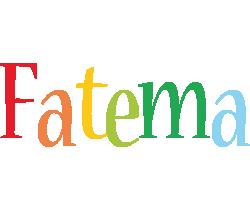 Fatema birthday logo