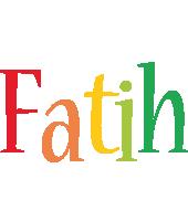 Fatih birthday logo