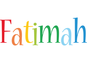 Fatimah birthday logo