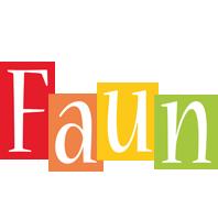 Faun colors logo