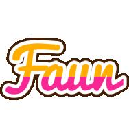 Faun smoothie logo