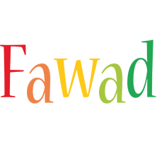 Fawad birthday logo