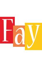 Fay colors logo