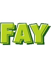 Fay summer logo