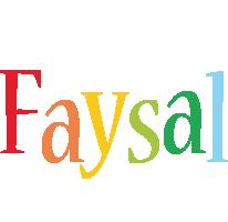 Faysal birthday logo