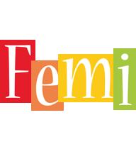 Femi colors logo