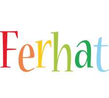 Ferhat birthday logo