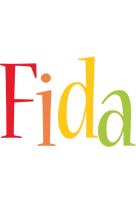 Fida birthday logo