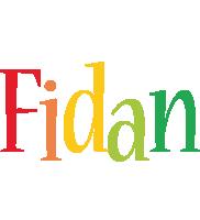 Fidan birthday logo