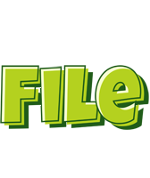 File summer logo