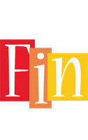 Fin colors logo