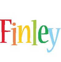 Finley birthday logo