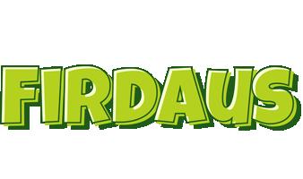 Firdaus summer logo