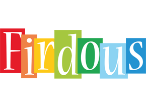 Firdous colors logo