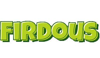 Firdous summer logo