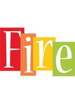Fire colors logo