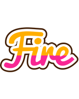 Fire smoothie logo