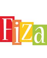 Fiza colors logo