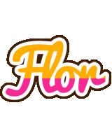 Flor smoothie logo