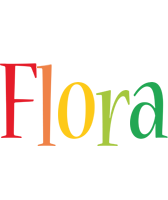 Flora birthday logo