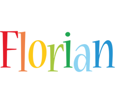 Florian birthday logo