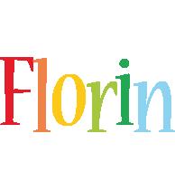 Florin birthday logo