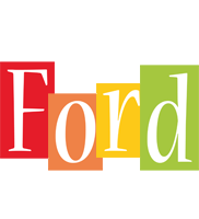 Ford colors logo
