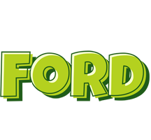 Ford summer logo