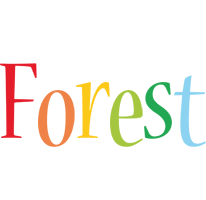 Forest birthday logo