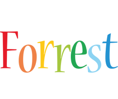 Forrest birthday logo