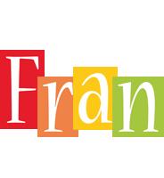 Fran colors logo